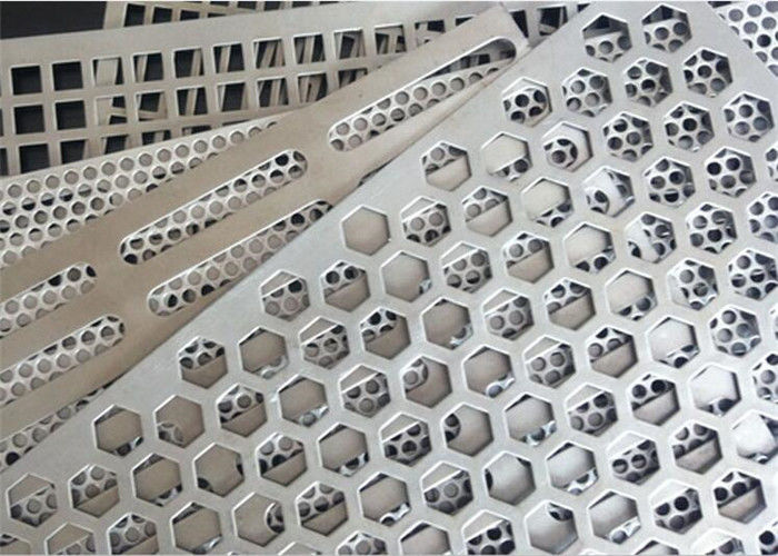 Square Holes Perforated Aluminum Sheet 1060 Thickness 3mm Hole Diameter 0.5-6mm