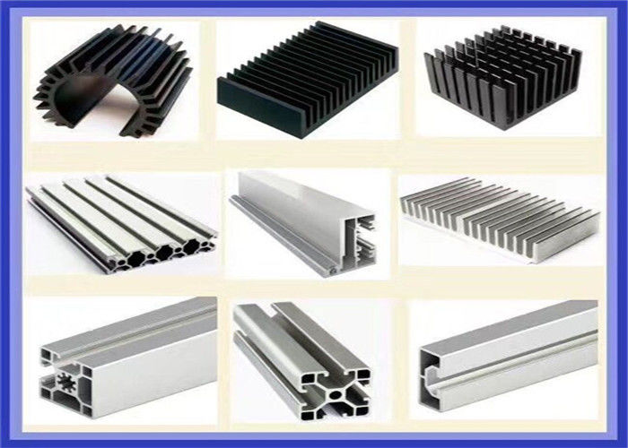 Automobile 6005 Extruded Aluminium Profiles , Anti Corrosion Extruded Aluminum Shapes