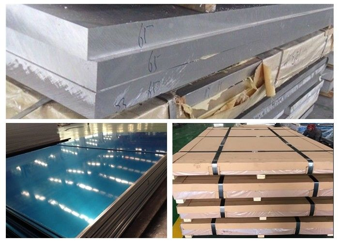 Train Body Aluminium 6005 T6 Plate , 4~260mm Thickness Aluminium 6005a T6 Sheet