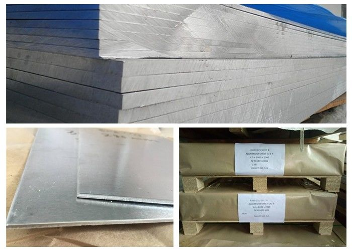 High Hardness 7075 Aluminum Stock , Hard Alloy 12 Gauge Aluminum Sheet Metal